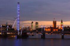 a lovely London evening by #arpaboyuyol, via Flickr