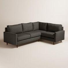 Chunky Woven Nashton Left-Facing Upholstered Sectional