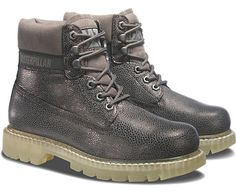 Women's Colorado boot in Dark Grey/Silver for #AW15 #catboots