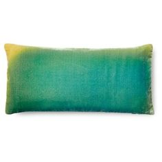 Check out this item at One Kings Lane! Ombré 7x15 Velvet Pillow, Blue