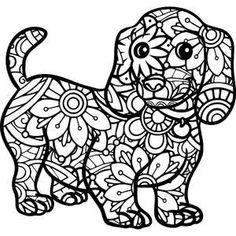Silhouette Design Store - My Cart Flower Coloring Pages, Animal Coloring Pages, Mandala Coloring, Colouring Pages, Adult Coloring Pages, Coloring Books, Silhouette Curio, Silhouette Design, Mandala Design