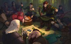 Iorveth and Geralt