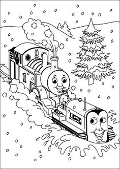 Thomas The Train Coloring Pages Picture 12 – 40 Free Thomas The ...