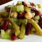 Three Bean Salad With Celery