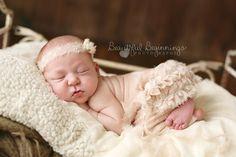 Newborn Pants Set. Baby Pants and Headband Set. by verityisabelle
