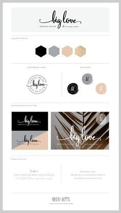 Big Love - Logo Concept Board
