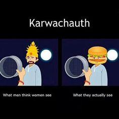 Funny karwachauth