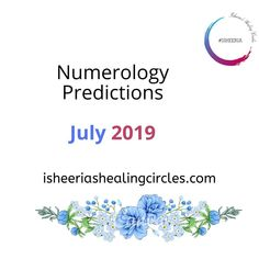 Every month, we bring you an easy to follow method of making predictions for you and your loved ones on #Isheeria - Come check out the latest post about what the month of #July has in store for you.  #Isheeria #Numerology #Predictions #July Making Predictions, Numerology, Circles, First Love, Healing, Store, Check, Easy, Blog