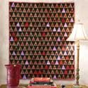 Button Stash: Artistic Accent Wall Quilt Pattern featured in McCall's Quilting March/April 2013