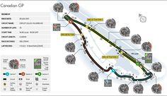 2013 Canadian Grand Prix - Circuit Map   Federation Internationale de l'Automobile