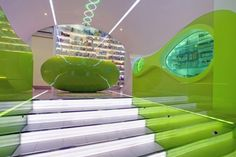Futuristic Pharmacy in Belgrade designed by Karim Rashid