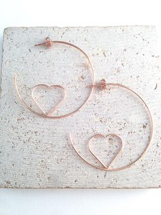 Rose gold hoop earring,Rose gold heart hoop earring,Rose gold heart shape earring,Heart hoop earring,Heart shape hoop earring,Heart earring Description:  -Heart hoop earring -Rose gold plated hoop earring -Available in silver color  Measurement:  Earring length: 2   ♥ ♥ ♥ ♥ ♥ ♥ ♥ ♥ ♥ ♥ ♥ ♥ ♥ ♥ ♥ ♥ ♥ ♥ ♥ ♥ ♥ ♥ ♥ ♥ ♥ ♥ ♥ Please visit my Etsy store for more collections http://www.lovestylelife.etsy.com ♥ ♥ ♥ ♥ ♥ ♥ ♥ ♥ ♥ ♥ ♥ ♥ ♥ ♥ ♥ ♥ ♥ ♥ ♥ ♥ ♥ ♥ ♥ ♥ ♥ ♥ ♥