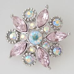 Affordable snap jewelry with snaps of all kinds and styles as well as snap bases like bracelets, necklaces, earrings, rings, jewelry sets and lots more. Ginger Snaps Jewelry, Cute Headbands, Fitness Bracelet, Pretty And Cute, Flower Shape, Crystals Minerals, Pink Flowers, Jewelry Sets, Diamond Earrings