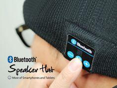 Bluetooth Speaker Hat $28