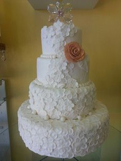 Crystal wedding cake by Care