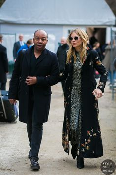 Sienna Miller by STYLEDUMONDE Street Style Fashion Photography