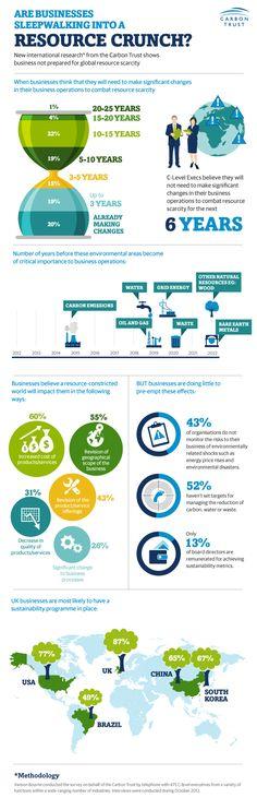 Infographic: Companies unprepared to address resource scarcities | GreenBiz.com