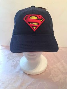 25ddfbb3497 DC Comics Superman 3D S Logo Snapback Baseball Cap - Personalized