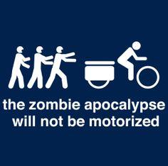 Zombie Apocalypse Bike Ride