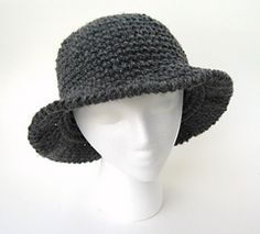 Ribbed Sun or Fun Hat #crochet pattern by Celina Lane, Simply Collectible Crochet
