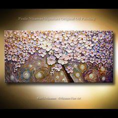 ORIGINAL  Painting Abstract Fine Art  Contemporary by Nizamas, $420.00