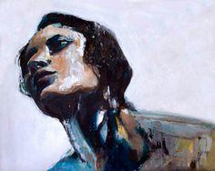 """""""Veronica"""" - Acrylic on canvas - 40cm x 50cm - Benjamin García"""