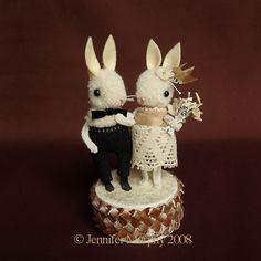 bunny cake topper - Buscar con Google