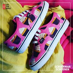 For the little cupcake fans only: Cupcake Vans! | Speciaal voor de kleine cupcake fans: Cupcake Vans! <3 #girlshoes