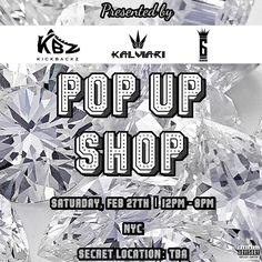 SAVE THE DATE Saturday Feb 27th in NYC: The 1st @KickBackz x @SixRingsClothing x @Kalviari Pop Up Shop! Come out shop with 2 premier upcoming streetwear brands & support dope art! Don't miss out on this one day only event Live Music by @ItsDJLIV  Secret Location: TBA in NYC Time: 12p-8p  Do you know or are you a dope local artist/painter? We want YOUR work showcased at our event! 1) Design a piece using a theme we have listed below. 2) Upload your artwork to Instagram and tag it with hashtag…