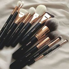 Trendy makeup brushes morphe make up Eyeliner, Mac Eyeshadow, Eyeshadow Brushes, Beauty Make-up, Natural Beauty, Beauty Nails, Natural Makeup, Hair Beauty, Types Of Makeup