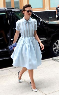 74bb651b0ab Keira Knightley in Prada out and about in New York Downtown Hotels