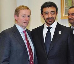 UAE Foreign Minister meets with Irish minister in Dublin