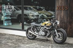 RocketGarage Cafe Racer: Honda CB 650 Zeus Custom