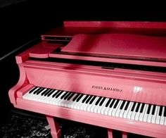 I would really like to have an unusually-colored baby grand piano. Or you know, grand piano. Depending on how big my lottery winnings are.