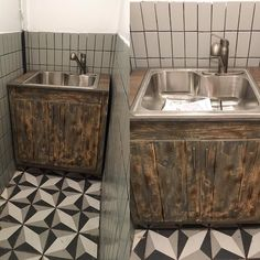installing a pallet kitchen cabinet sink  #recycle #salvagedartists #sustainable#sustainabledesign #upcycling #reuse #repurpose#regenerate #sustainableinteriordesign#organic #vintage #salvaged #greenpalette #pallet#palletwood #palletinteriordesign #palletfurniture#customrecycleddesigns #recycledcontractors#custom #recycledartist #wastemakesspace#environmentally #green  #affordabledesign #simplesustainablelivable #kingstonny#industrialdesign by greenpalette Pallet Kitchen Cabinets, Green Palette, Pallet Furniture, Reuse, Repurposed, Sink, Organic, Interior Design, Vintage