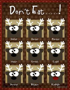 Don't eat ___ game.  We LOVE this game!  What a fun one!