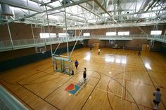 The Red Mountain Center Basketball Gym is open for pick up games
