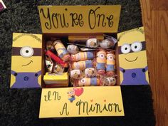 """""""You're one in a minion"""""""