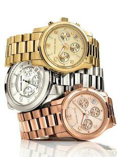 Michael Kors Watch Rose - Gold - Silver #ZbyAlikiVergidou