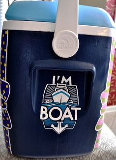 i'm on a boat... ahhhhh what a frat theme for those anglers in our lives