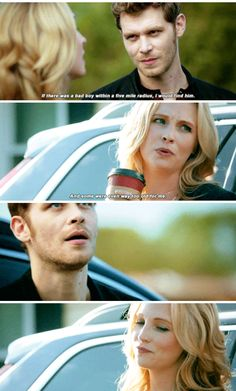 #theoriginals 5x06 - Caroline and Klaus #klaroline #candiceking #josephmorgan #tvd