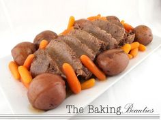Jeanine's Pot Roast - such a great way to have moist pot roast, an easy to make dinner.