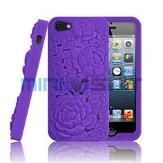 MiniSuit's new soft silicone case for Apple iPhone 5 features a unique 3D Flower Garden design! This innovative case protects with funky fresh function. Colors of the case pop in 3 dimensional effect to instantly give smart suaveness and style. Ligh