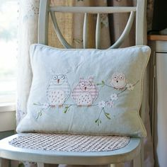 New Baby Animal Magic Cushion Pinned by www.myowlbarn.com