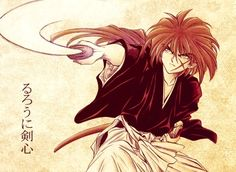 Arte Conceito #RurouniKenshin #Anime #DeliDaPersy #ParaAssistir