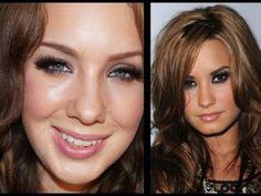Demi Lovato Smokey Eyes