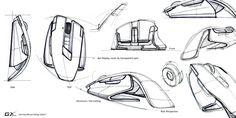 Le Penseur :: design sketches by hank chen Industrial Design Sketch, Design Lab, Ad Design, Design Concepts, Design Model, Sketch Inspiration, Design Inspiration, Sketch Ideas, Mouse Sketch
