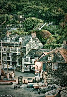 Photograph Port Isaac , Cornwall England at dusk by Scott Keegan on 500px