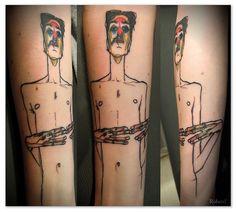 Egon Schiele tattoo / Roberel (Dragon Tattoo Paris - Juin 2013)