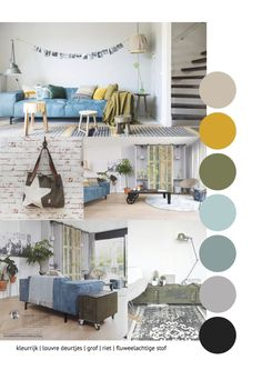 Running out of ideas? We& got you covered! Find all the inspiration here! Room Color Schemes, Room Colors, House Colors, Style At Home, Interior Design Living Room, Interior Decorating, House Color Palettes, Style Deco, Piece A Vivre